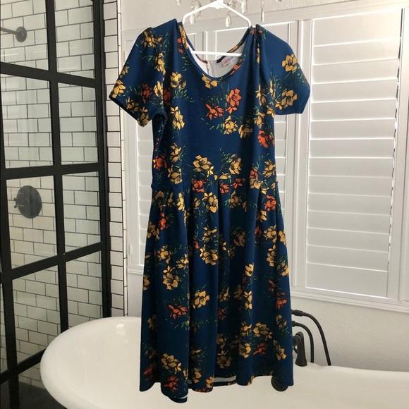 LuLaRoe Dresses & Skirts - LuLaRoe Amelia XL EUC